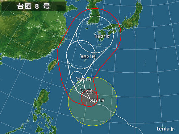 伊勢湾!!第2室戸!!台風8号の...